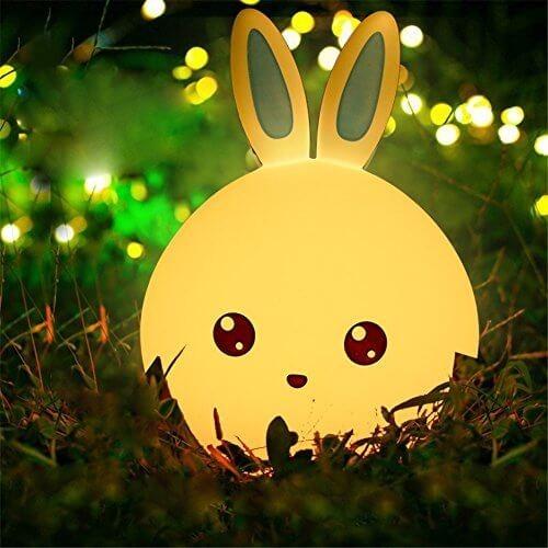 Мягкий ночник Зайка: ми-ми-мишка в лунном сиянии