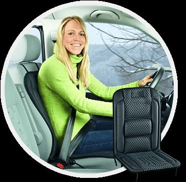 Накидки на сиденья с подогревом для авто