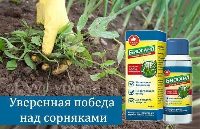 Биогард - средство от сорняков